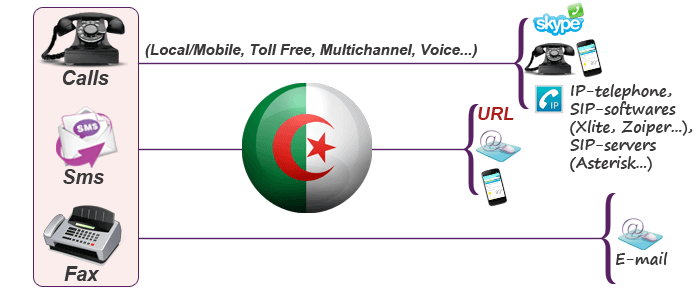 Algerian virtual phone number
