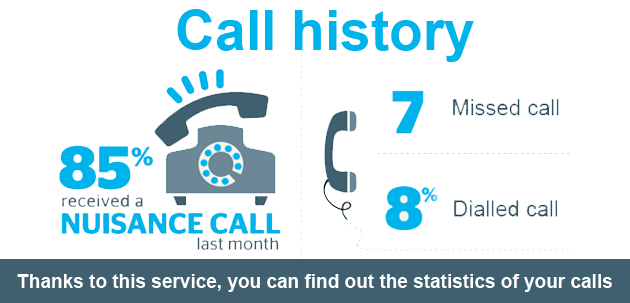 call history info