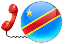 Virtual phone number for Congo