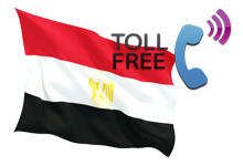 Egypt toll free phone 800 number