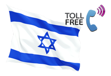Israel toll free 800 number with call forwarding service