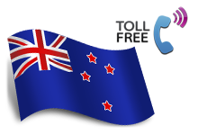 New Zealand toll free numbers