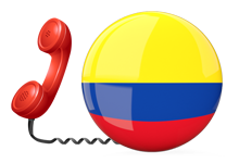 Get Colombia virtual numbers for calls