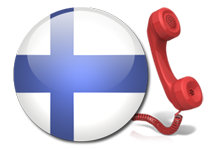 Virtual number for calls for Finland