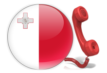 Virtual number for calls for Malta
