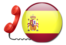 Virtual number for Spain