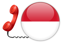 Indonesia local toll free number for forwarding of calls