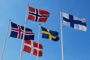 Virtual numbers for calls within Scandinavian countries