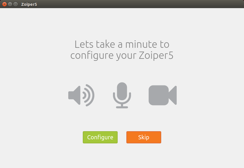Zoiper for Linux