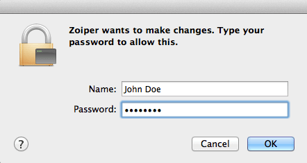 Zoiper for Mac