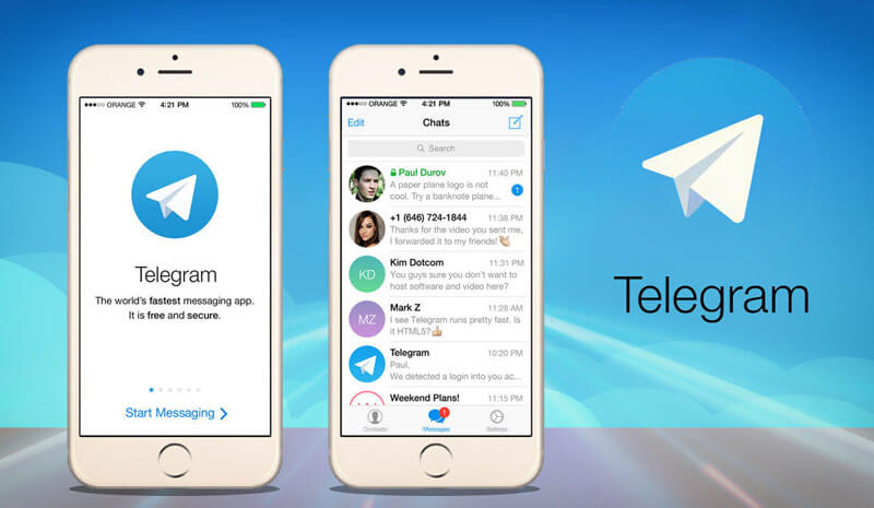 Get Telegram Messenger for virtual number