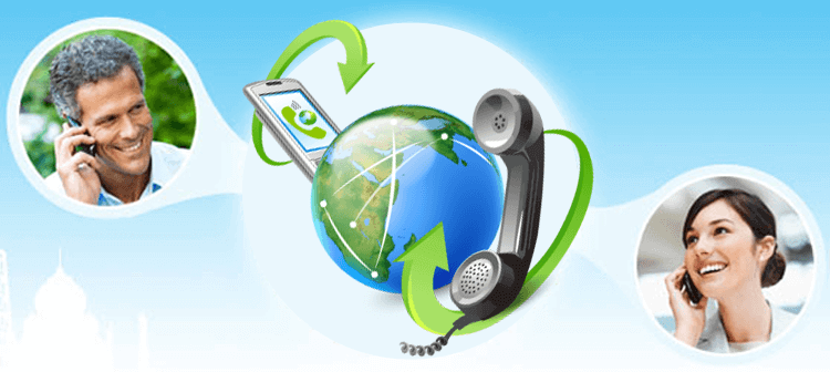 Advertising agency with VoIP telephony